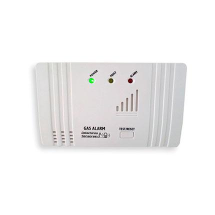 Detector de Gas con Relé