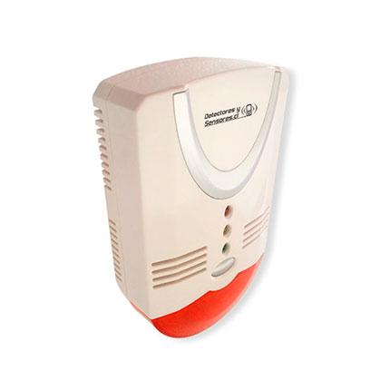 Detector de Gas con Baliza