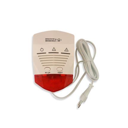 Detector de Monóxido CO Fijo Domiciliario con Salida de Relé