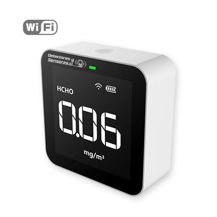 Medidor Material Particulado 5 en 1 WiFi